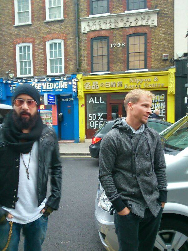 backstreet boys en Londres