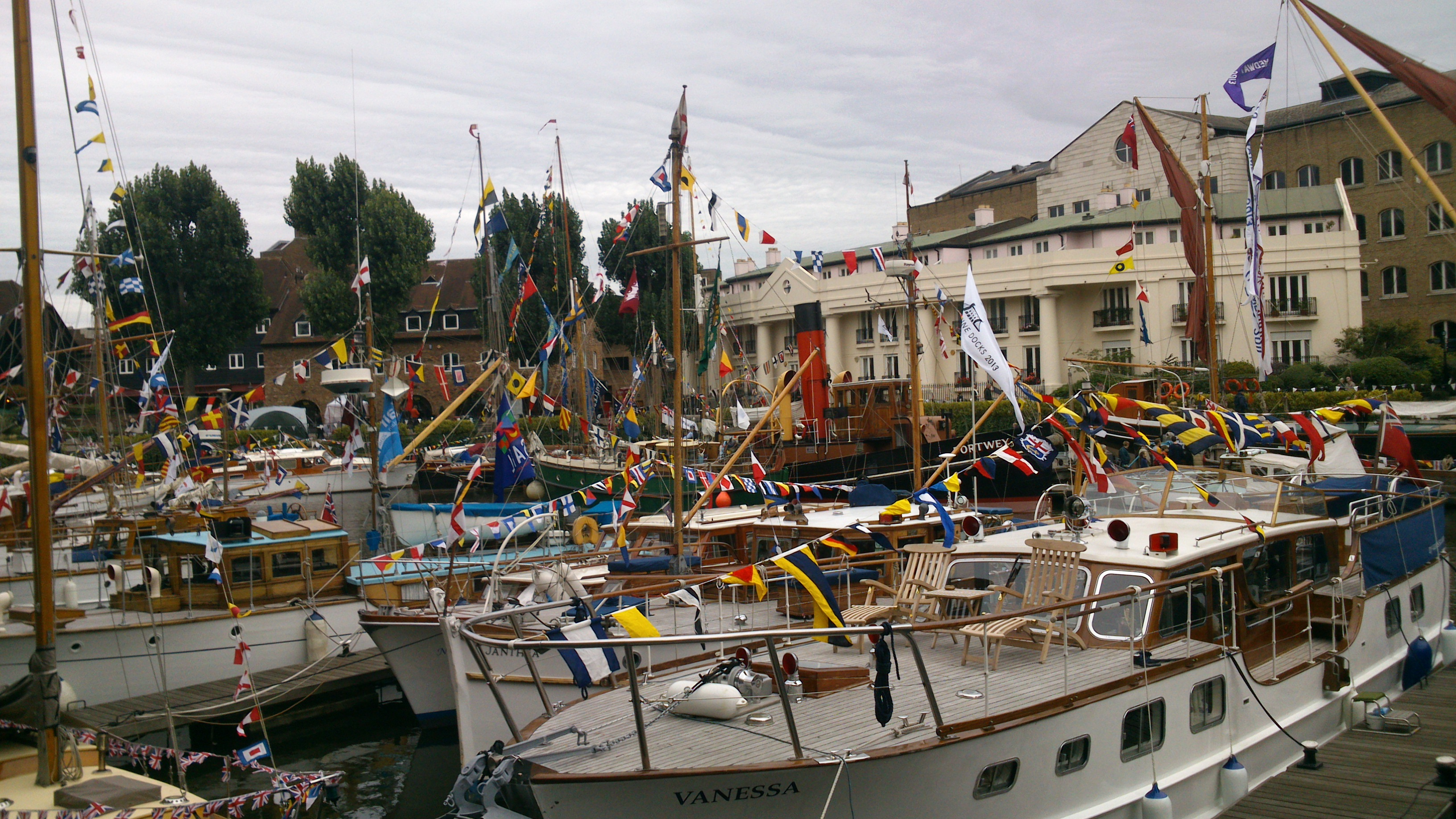 embarcadero St Katharine Docks