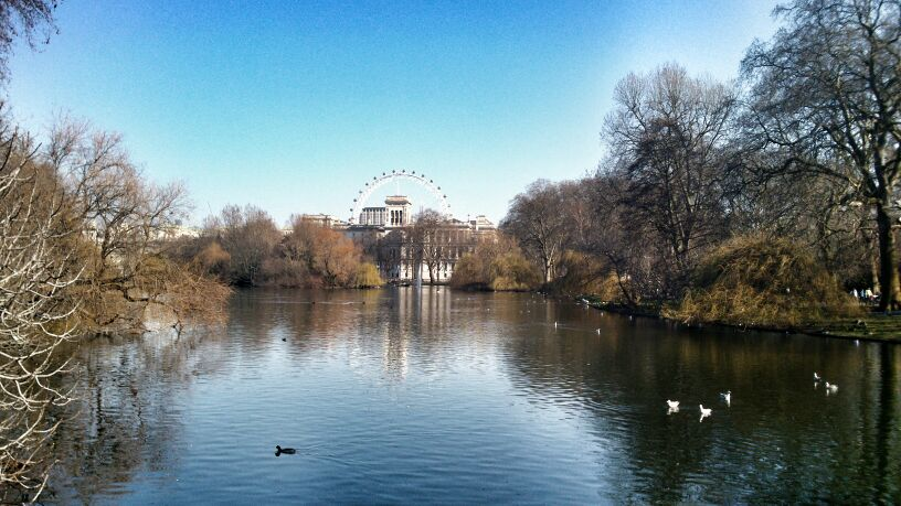 st james park - london