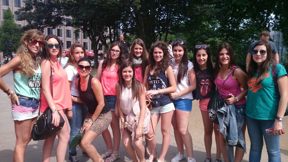 viaje grupo escolar Londres