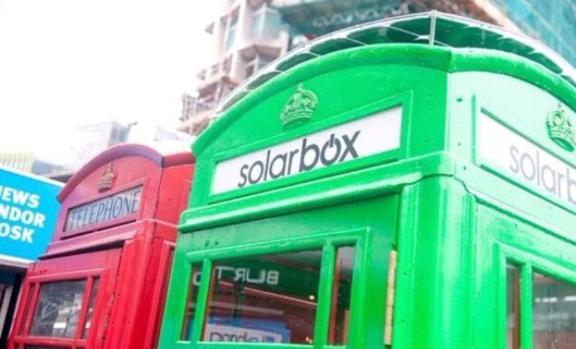 green solar box london